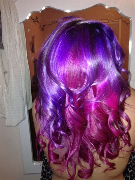 Mermaid Hair Using Ion Color Brilliance Magenta And Manic