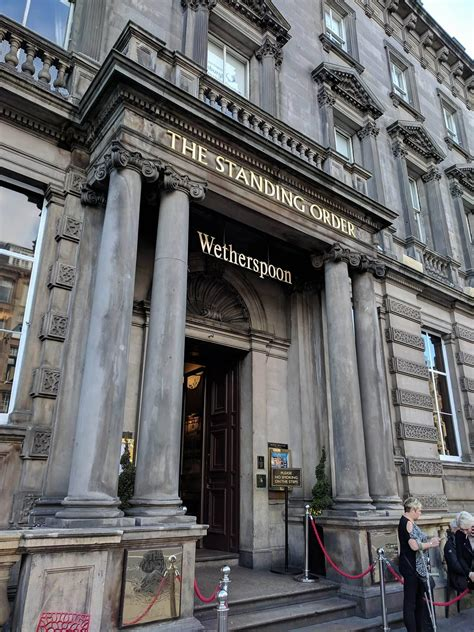 I went to all six Wetherspoon's in central Edinburgh to ...
