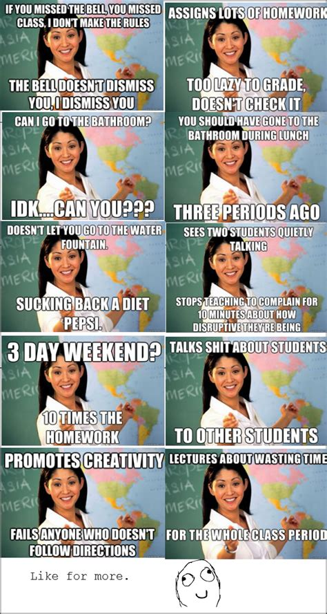 Unhelpful Highschool Teacher Memes - margotgirerd 99 problems but a tie ain t one page 2