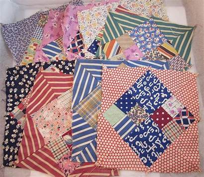 Feedsack Squares Quilt Moore Antiques Ss