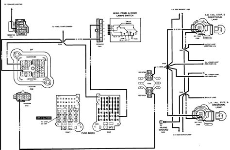 1989 Chevy 10 Wiring Diagram by Light Wiring Digram For A 1989 Chevy S10