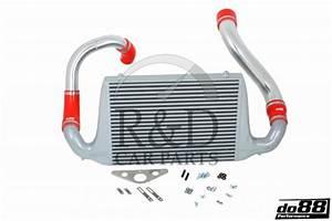 Performance Intercooler Kit Red Saab 900 Turbo 1981