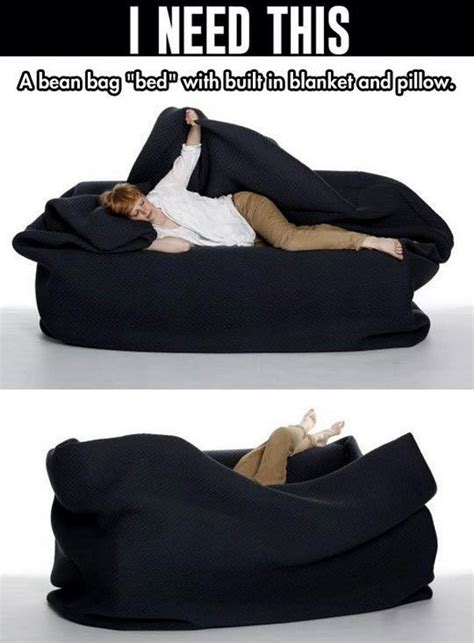 bean bag bed with blanket and pillow 16 coolest pillow ideas tutorials you will