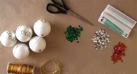 bolas de navidad 1 manualidades para ni 241 os