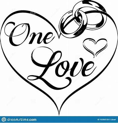 Clip Rings Clipart Heart Amore Inside Nozze