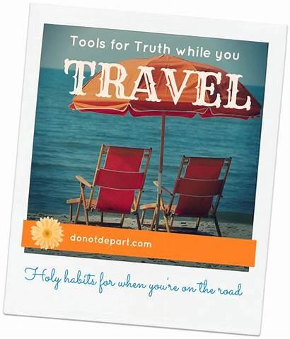 Travel Bible Vacation Study Season Holy Tools
