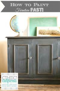 How to Use Chalk Paint for Furniture
