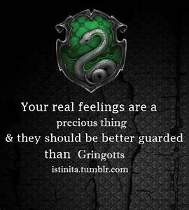 Slytherin, Feelings and Posts on Pinterest