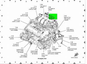 2008 Mercury Sable Engine Diagram