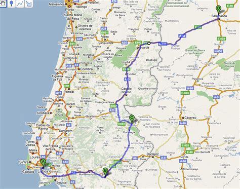 Carte Autoroute Espagne Portugal by Carte Autoroute Espagne Portugal