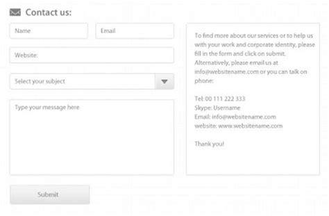 contact form 7 templates contact form templates