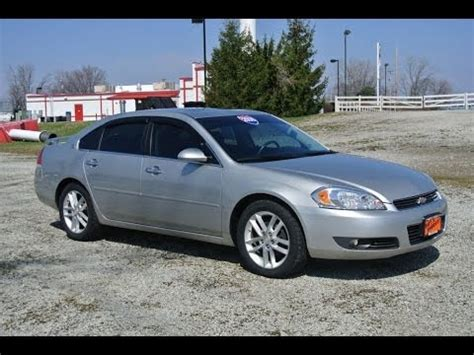 Chevy Impala 2008 by 2008 Chevrolet Impala Ltz For Sale Dealer Dayton Troy