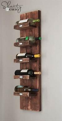 building a wine rack DIY Wine Rack - Shanty 2 Chic