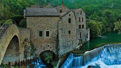 Gorge Bing Mill Dourbie Corps Causses Ous