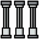 Pillars Icon Icons Flaticon Svg
