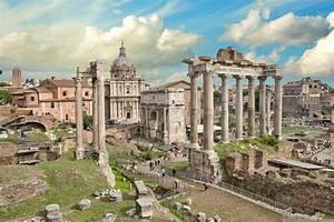 Temple Of Concord In Roman Forum
