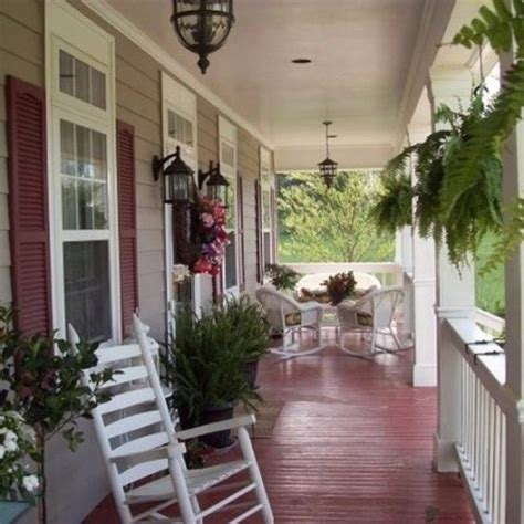 Country Front Porch Decorating Ideas Cottage Style