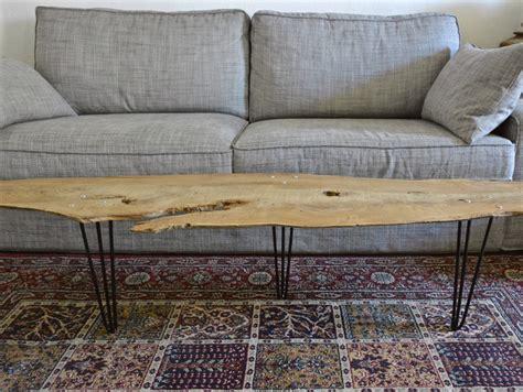 hair pin legs petites tables rondins sur hairpin legs barbatruc et récup