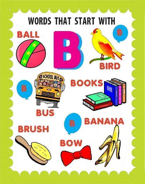 Words That Start with B