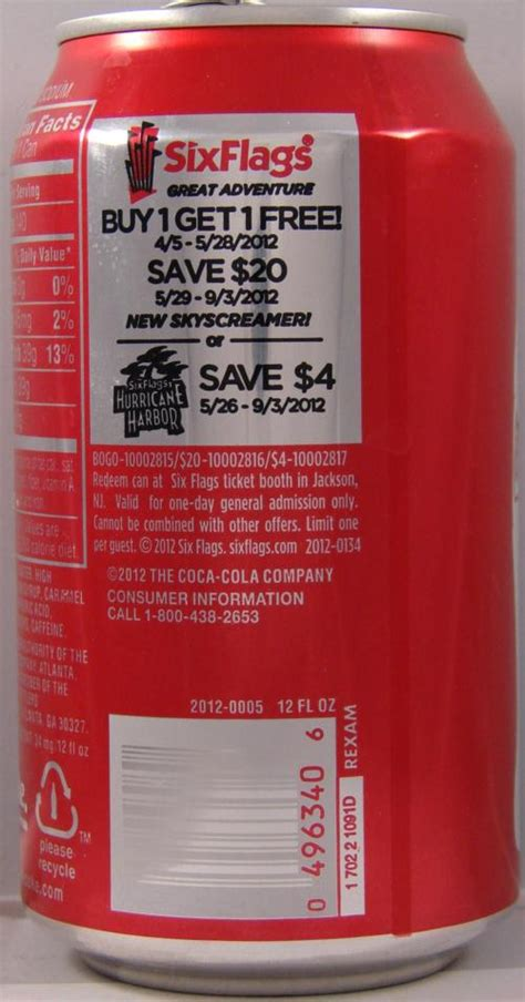 63182 Staging Coupon Code by Six Flags Discount Tickets Coke Build A Cake Toppers