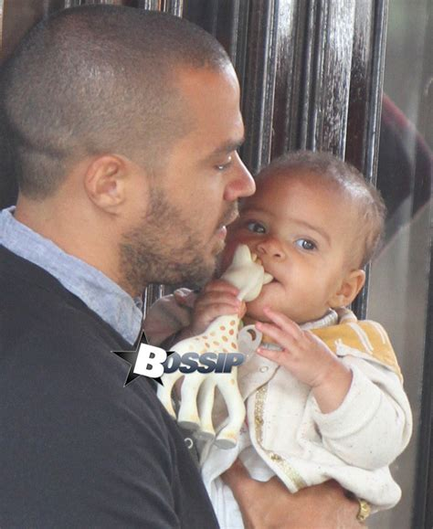Jesse Williams and His Wife