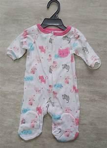 minimi pyjama bébé nouveau née à 24 mois chaton boutique