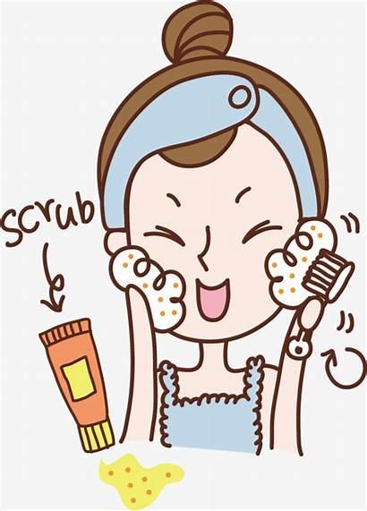 Wash Face Clipart Hands Woman Svg Transparent