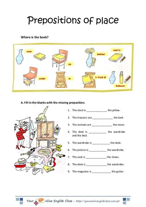 best 25 prepositions of place worksheet ideas on