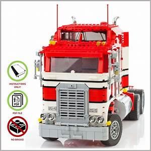 Lego Moc Kenworth Truck - Custom Model Team