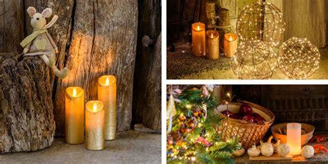 decorare le candele per natale come fare decorazioni con candele di natale luminal park