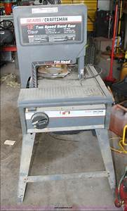 Sears Craftsman 12 Inch Band Saw Manual