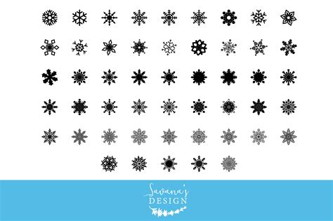 The svg and dxf files can be imported to a number of paper craft programs, such as silhouette cameo and cricut. Snowflake SVG Cut Files ~ Graphic Objects ~ Creative Market