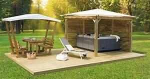 Spa En Bois Pas Cher : kiosque clairval pergola ~ Premium-room.com Idées de Décoration