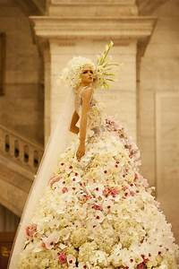 dresses made up of real flowers you didn39t know With flower wedding dress