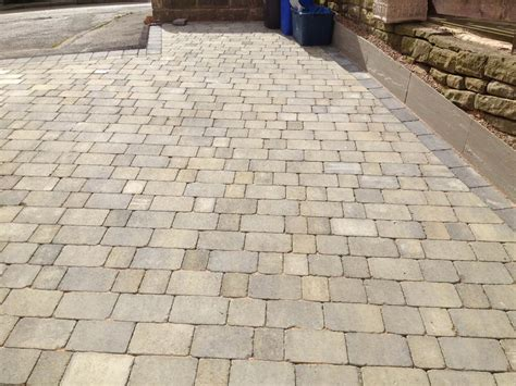 tumbled pavers price abbey tumbled setts burnt willow single sizes quality block paving driveway at lsd co uk