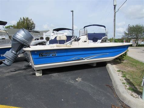 Skiff Reviews by 2006 Carolina Skiff 1980 Dlx Florida Boats