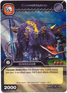 Image - Carnotaurus TCG card.jpg.jpeg | Dinosaur King ...