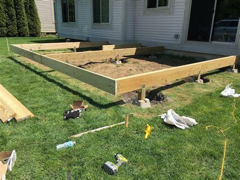 build  floating deck patio options floating deck building  floating deck deck