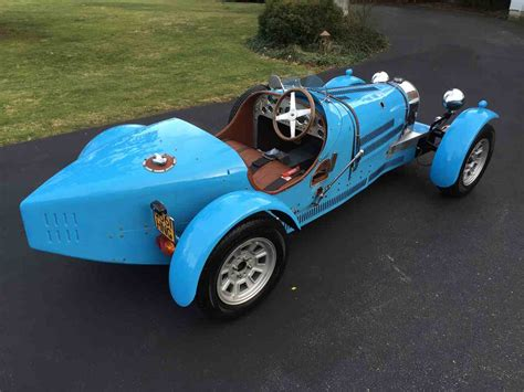 1971 Bugatti Type 37 Replica (factory Built, Not A Kit Car