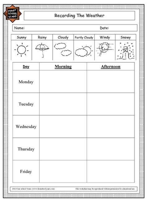 2nd Grade » Free Weather Worksheets For 2nd Grade  Printable Worksheets Guide For Children And