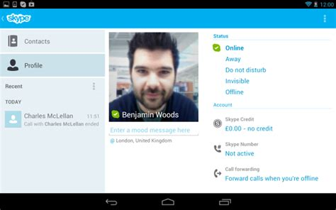 skype for android 3 0 tablet overhaul sparks bug reports