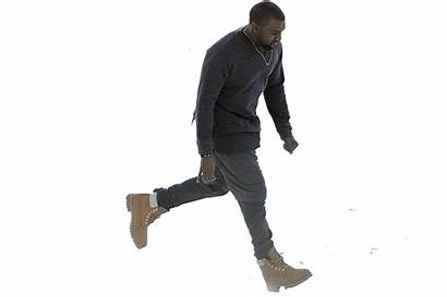 Walking Someone Photoshop Stomping Timbs Him Water