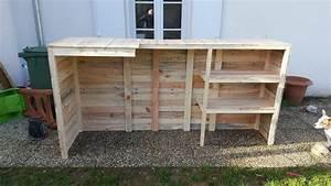 DIY Pallet Wood Bar 101 Pallets