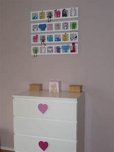 Cadre Chambre Enfant : decoration mur chambre enfant cadre animaux multicolores personnalise ~ Teatrodelosmanantiales.com Idées de Décoration