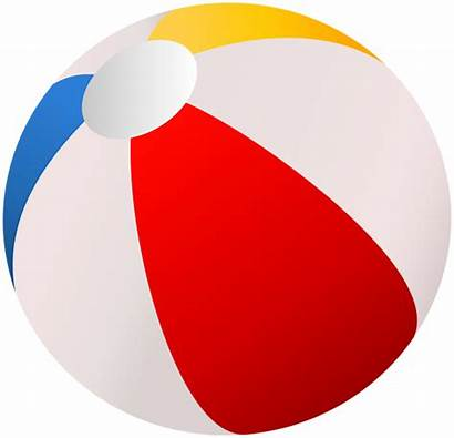 Ball Beach Clip Clipart Summer Vacation Transparent