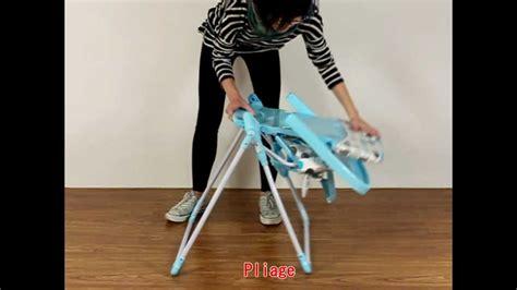 chaise haute pour bébé ultra compacte ch05