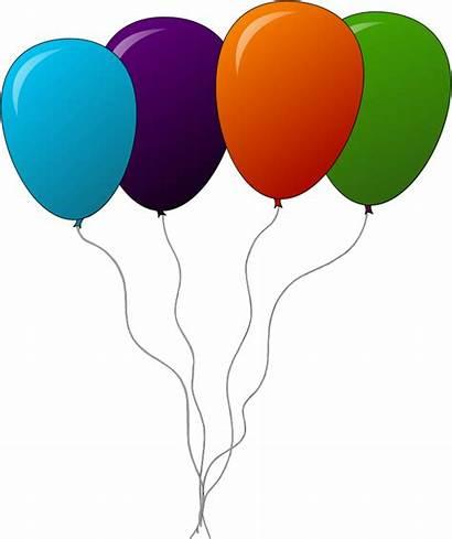 Balloon Balloons Clip Clipart Animated Ballons Birthday
