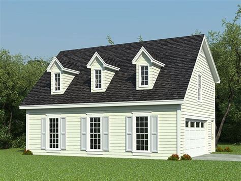 Carriage House Plans  Cape Codstyle Carriage House Plan