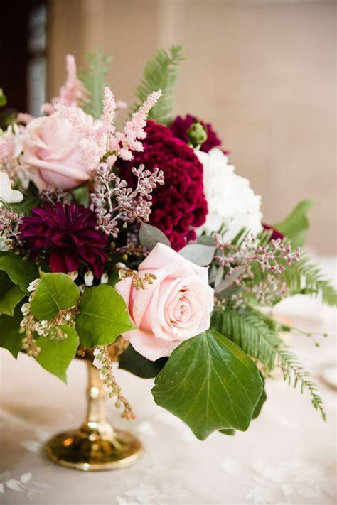 burgundy floral centerpieces ideas  pinterest