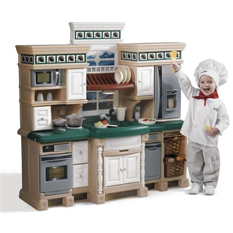 cuisine tikes step2 lifestyle deluxe kitchen